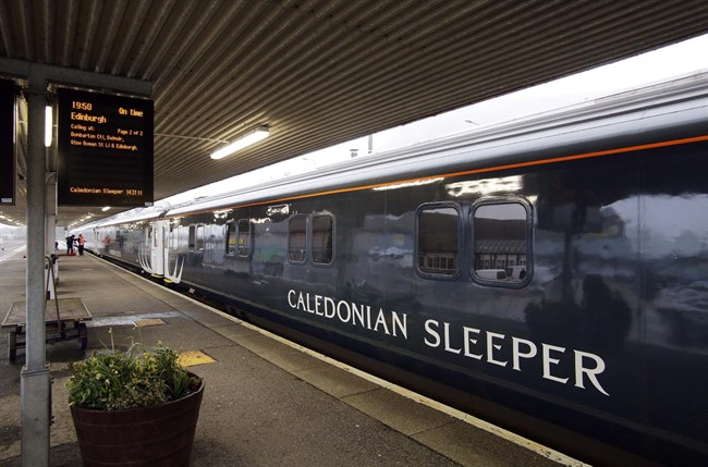caledonian sleeper